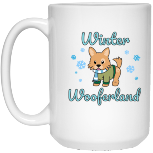 Winter Wooferland 15 oz. Mug