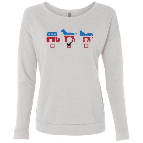 My Vote Scoop Neck Sweatshirt
