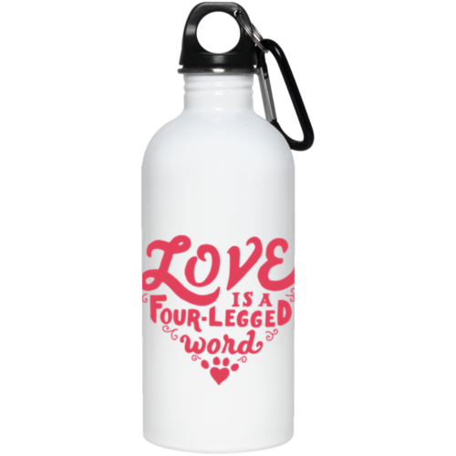 Four Legged Word Stainless Steel Water Bottle
