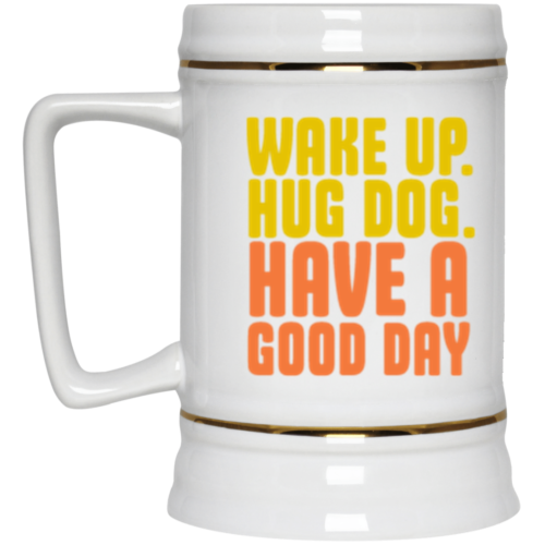 Wake Up Beer Stein 22oz.