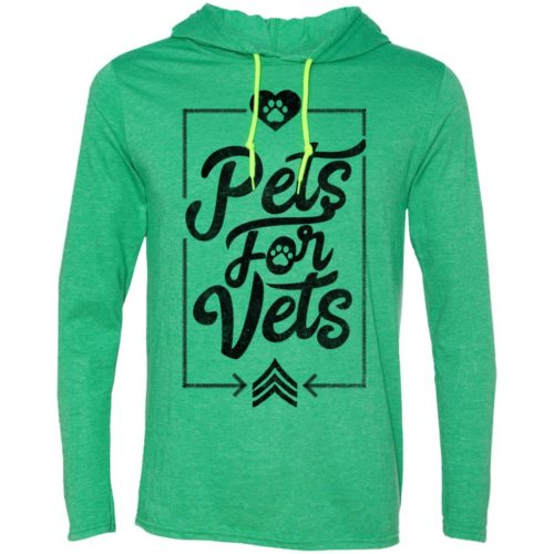 Pets For Vets Lightweight T-Shirt Hoodie