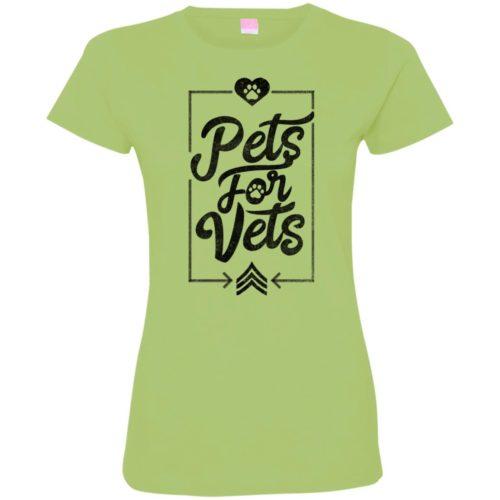 Pets For Vets Ladies' Premium T-Shirt