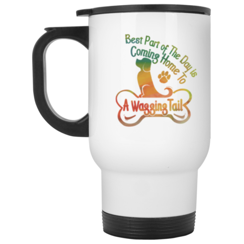 Best Part Of The Day Stainless Steel Travel Mug