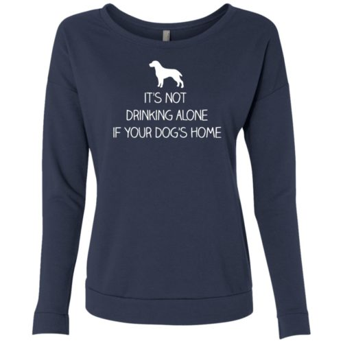 Drink Alone Scoop Neck Sweatshirt