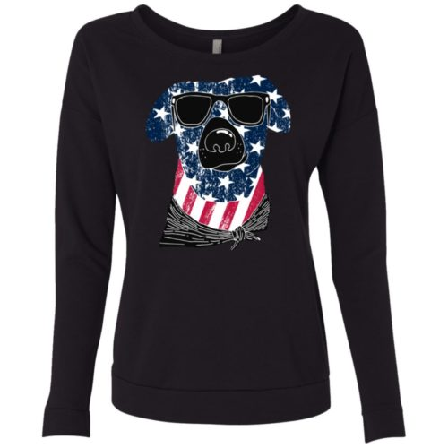 American Dog Scoop Neck Sweatshirt