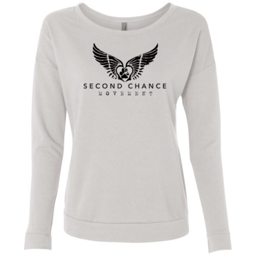 Second Chance Movement™ Scoop Neck Sweatshirt