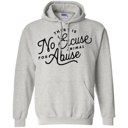 No Excuse For Abuse Pullover Hoodie