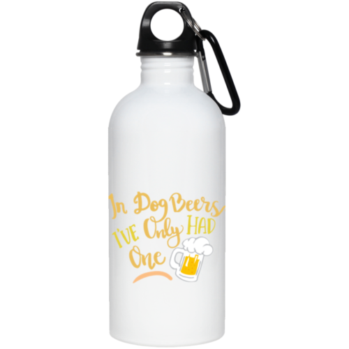 In Dog Beers Stainless Steel Water Bottle