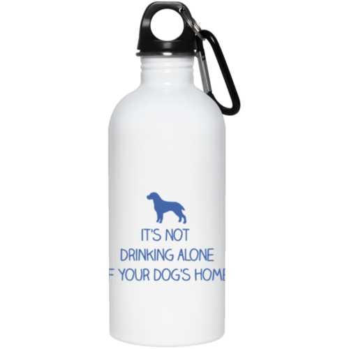 Drink Alone Stainless Steel Water Bottle