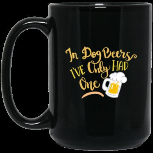 In Dog Beers 15 oz. Mug