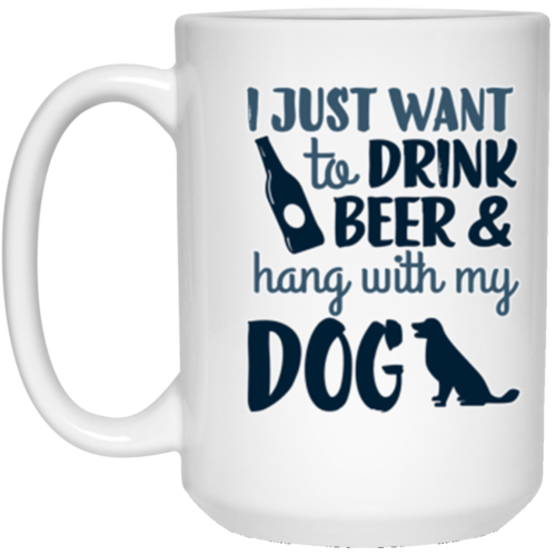 Drink Beer & Hang 15 oz. Mug
