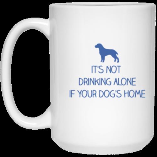 Drink Alone 15 oz. Mug