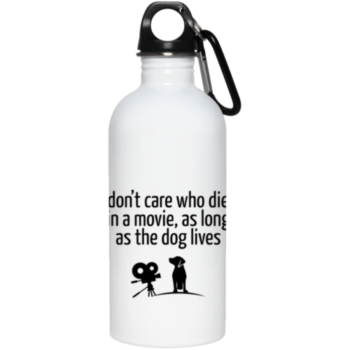The Dog Lives Stainless Steel Water Bottle