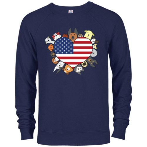 Heart Dog USA Premium Crew Neck Sweatshirt