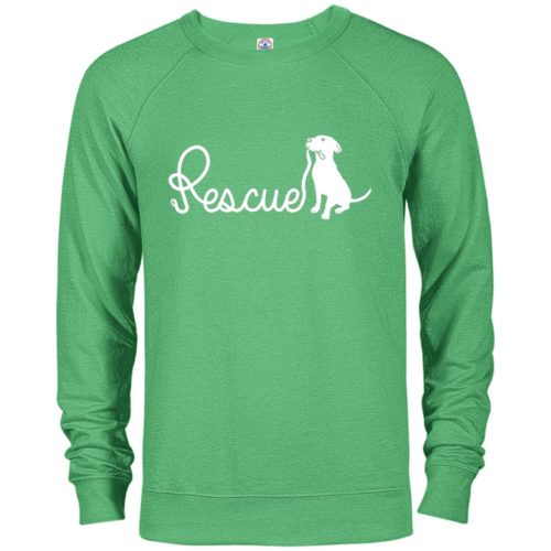 Rescue Leash Premium Crew Neck Sweatshirt