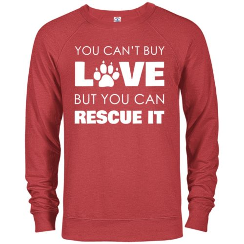 Rescue Love Premium Crew Neck Sweatshirt