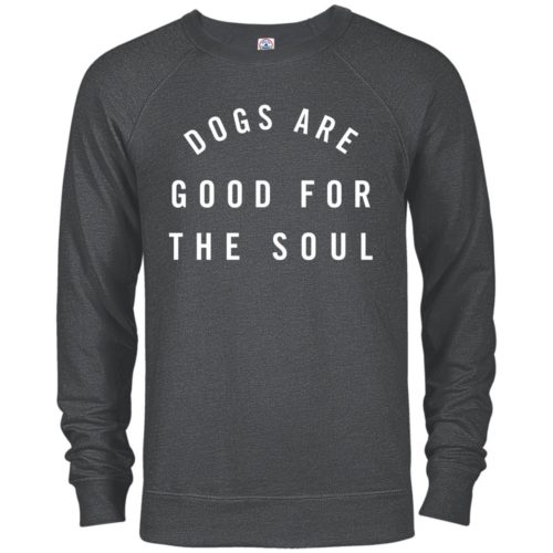 Dogs Are Good Premium Crew Neck Sweatshirt
