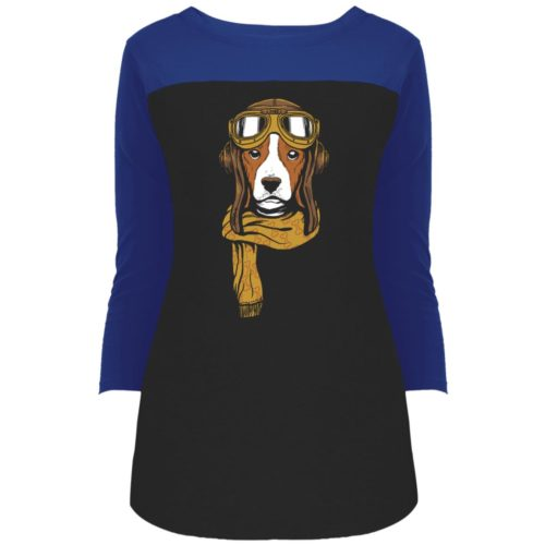 Dog Venture Colorblock 3/4 Sleeve