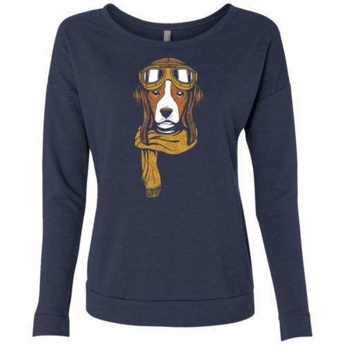 Dog Venture Scoop Neck Sweatshirt