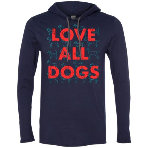 Love All Dogs T-Shirt Hoodie