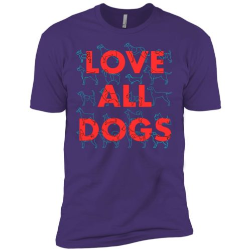 Love All Dogs Premium Tee