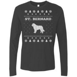 St. Bernard Christmas Premium Long Sleeve Shirt