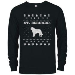 St. Bernard Christmas Premium Crew Neck Sweatshirt