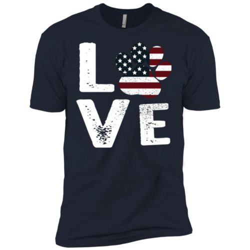 Love Paw USA Premium Tee