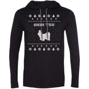 Shih Tzu Christmas T-Shirt Hoodie