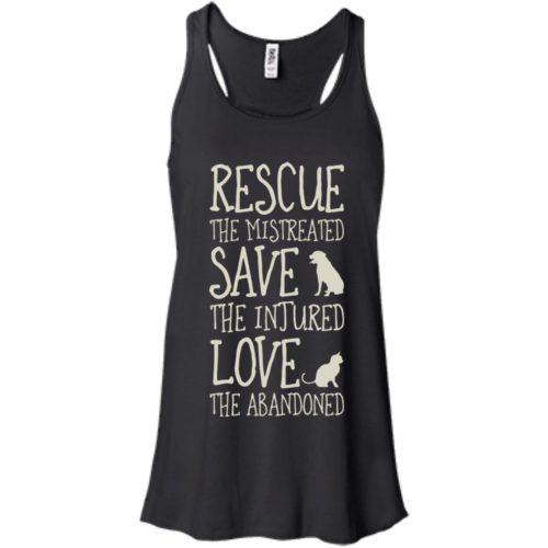 Rescue Them Flowy Tank