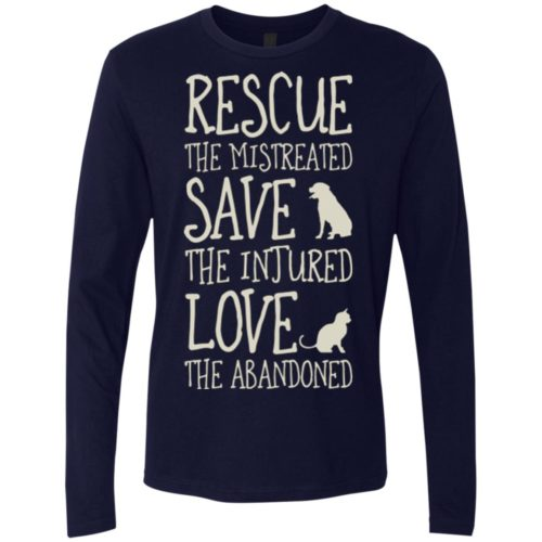 Rescue Them Premium Long Sleeve Tee