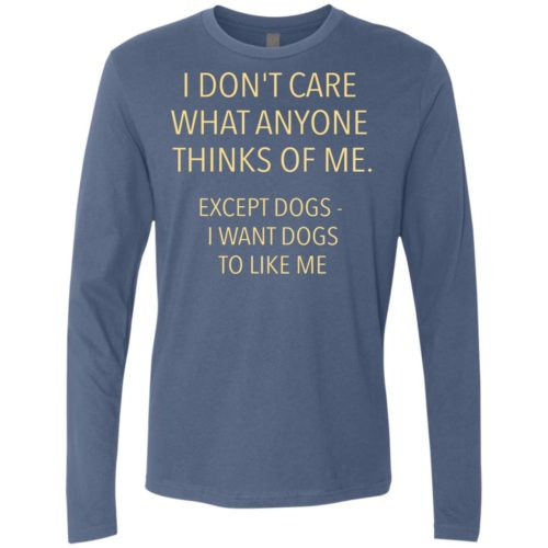 Except Dogs Premium Long Sleeve Tee