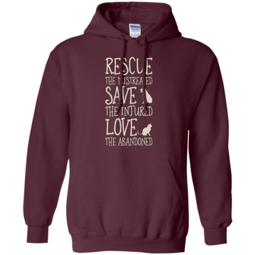 Rescue Them Pullover Hoodie