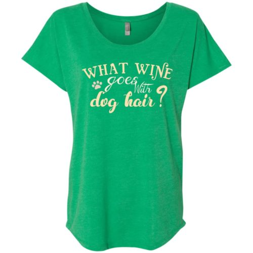 What Wine Ladies' Slouchy T-Shirt
