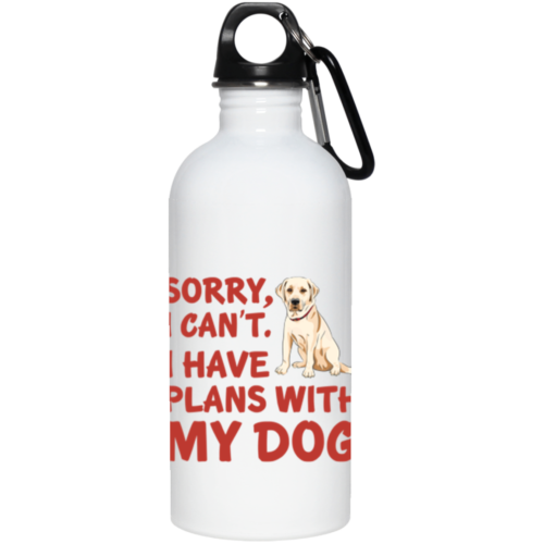 I Have Plans Stainless Steel Water Bottle