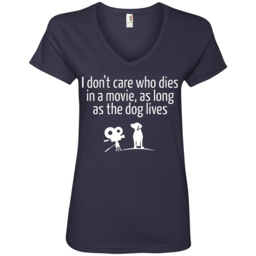 The Dog Lives V-Neck Tee