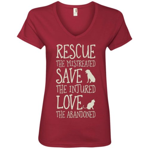 Rescue Them V-Neck Tee