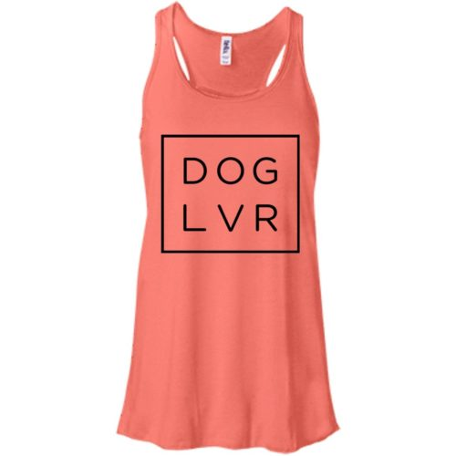 Dog Lvr Flowy Tank