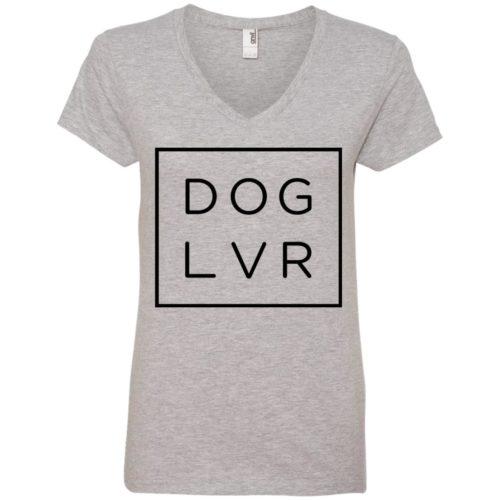 Dog Lvr V-Neck Tee