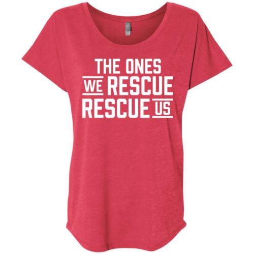 Rescue Us Ladies' Slouchy T-Shirt