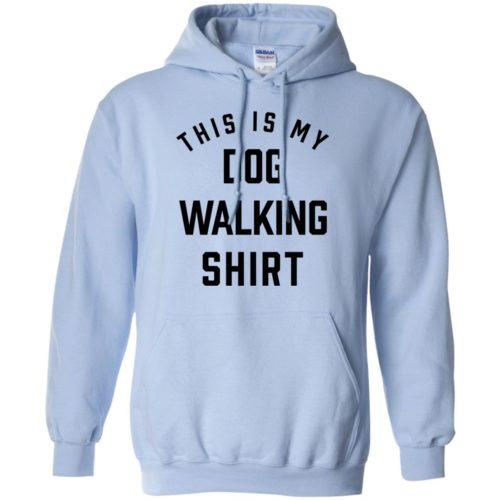 Dog Walking Statement Pullover Hoodie