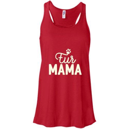 Fur Mama Flowy Tank