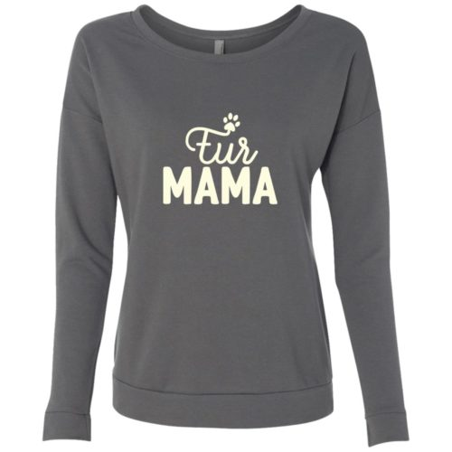 Fur Mama Scoop Neck Sweatshirt