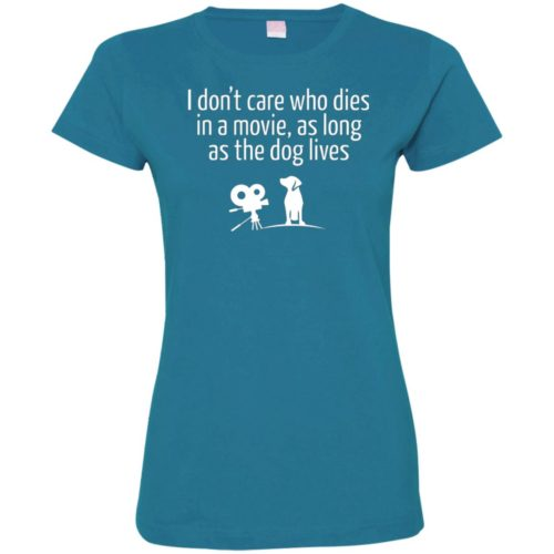 The Dog Lives Ladies' Premium T-Shirt