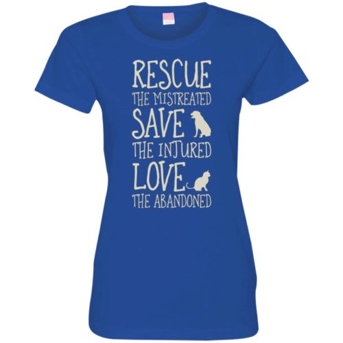 Rescue Them Fitted Tee