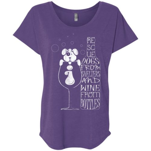 Dogs And Wine Slouchy Tee