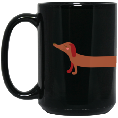 Dachshund Stretch 15oz. Mug