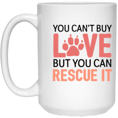 Rescue Love 15 oz. Mug