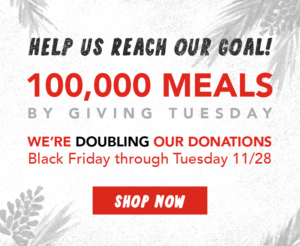 Double Donations Via Giving Tuesday – The Offers Go to the Canines!