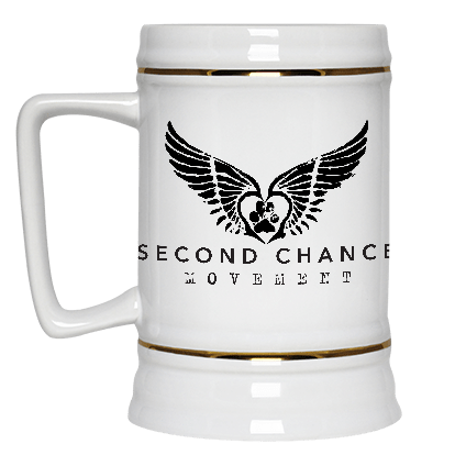 Second Chance Movement™ Beer Stein 22oz.
